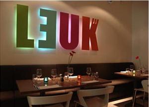 Amsterdam – Restaurant Leuk